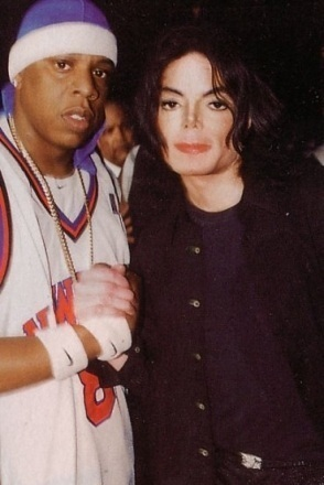 Who is with MJ?