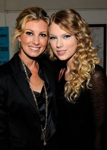 Who is the woman with Taylor?