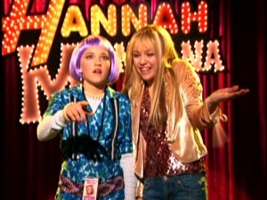 Are Hanna montana and lilly from show naked rather