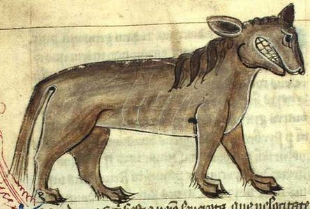 The mythological beast seen in this picture was featured in an episode of Supernatural – can you guess its name?