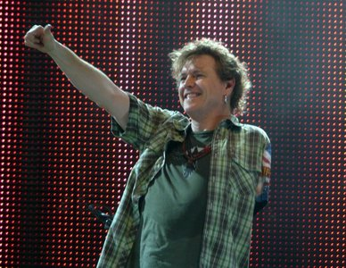 What is Rick Allen's favourite band?