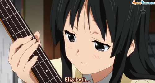 What color is Mio's bass?