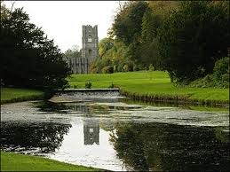 Haunted Yorkshire -(what's the missing word) A ghostly .......can be heard chanting at Fountains Abbey ?