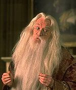 does dumbledore have a scar?