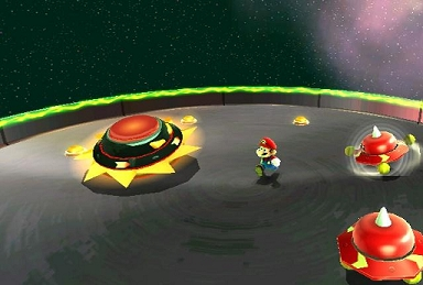 Nintendo Characters - It resembles a red spinning top, and is the leader of the Topman tribe