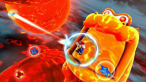 nintendo Characters - They appear as large molten creatures with a huge mouth and do not pindah very much, mostly staying under the lava, arising to chomp down on anything