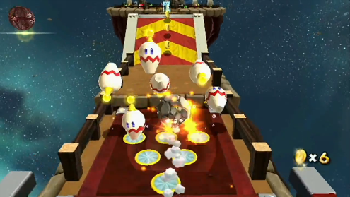 nintendo Characters - They appear as bowling pin-shaped enemies with two beady eyes and a yellow antenna