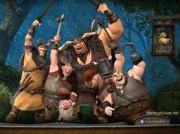 "How many different thugs are included in the movie ""Tangled""?"