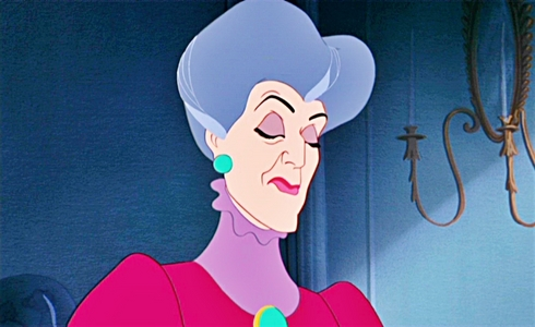 What color are Lady Tremaine's eyes?