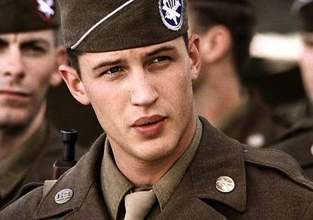 What was the name of Tom's character in 'Band of Brothers'?