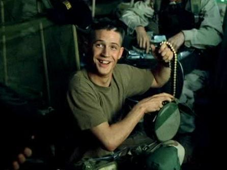 What was the name of Tom's character in 'Black Hawk Down'?
