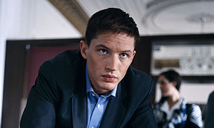 What was the name of the character Tom Hardy played in the drama 'Gideon's Daughter'?