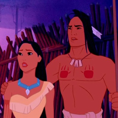 True or False: The real Pocahontas was married to Kocoum.