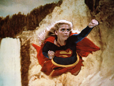 who is this woman - supergirl (movie) ?