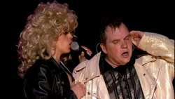 Who did the baseball play by play metaphor in Meat Loaf's Paradise by the Dashboard Light?