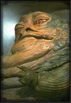 Who does the voice of Jabba the Hutt?