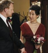 In which season did Cristina meet Owen and begin dating him?