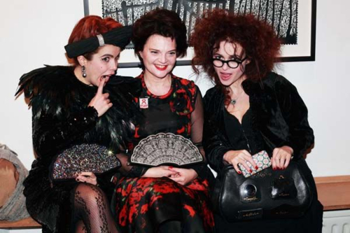 Who is in this picture with Helena?