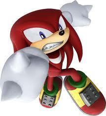 Is it true that Knuckles has a crush on Rouge in Sonic Rivals 2?