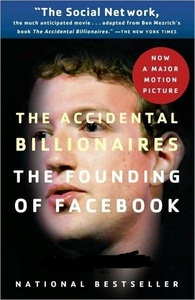"The movie was based on a book titled ""The Accidental Billionaires"" written by who?"
