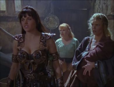 What did Xena want to buy at a local inn?