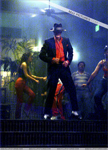 What song is Michael performing here?