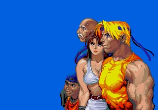 what is the name of boss in 3rd stage of streets of rage 3?