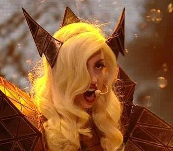 On the X factor, Lady GaGa came in a bath cantar 'Bad Romance', what else did she request for the show?