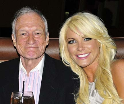 What was Hugh Hefners first wifes name?