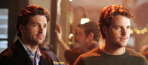 Which episode does Derek's rival for Meredith's heart Finn Dandridge make his first appearnce?