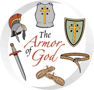 the armor of God: the breastplate of what ??