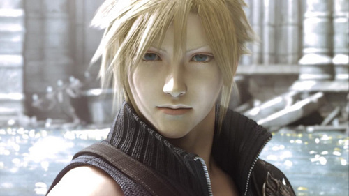 In Final Fantasy VII: Advent Children, Cloud has the Geostigma, but where?