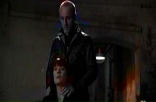 In 6x18 Lauren, Doyle touched Prentiss' neck cuz: