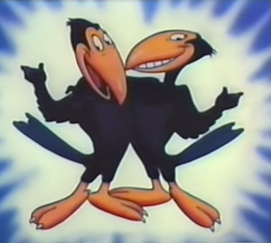 Who created these hilarious talking magpies, Heckle and Jeckle?
