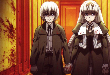 In what anime are these two lovely kiddies (Hansel and Gretel) in?