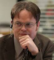 What is one of the many things that makes Dwight laugh?