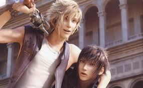What is the name of the blond guy who accompany noctis?