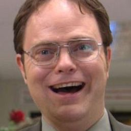 What is another thing that makes Dwight laugh?