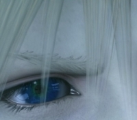 Who reflect in Cloud's eye?