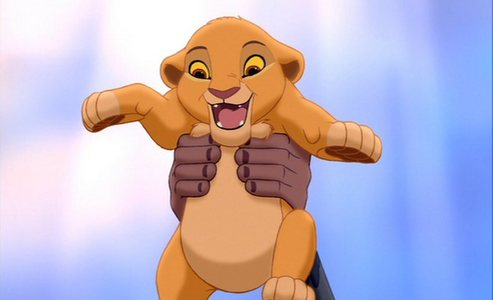 "What was the original name of Simba's cub at the end of ""The Lion King""?"