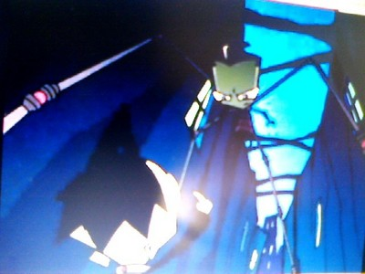 "Why does zim spare Dib in the episode ""Spectacular of spooky doom?"" (btw sorry about the picture quality)"