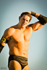 what is the weight of wade barrett?