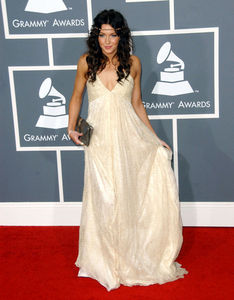 When interviewed at the 2009 GRAMMYs, what British artist did Katie say she really wanted to meet?