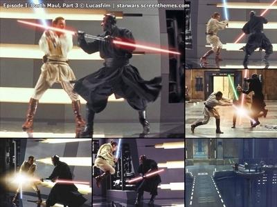 In what Jahr did Obi-Wan kill Darth Maul?
