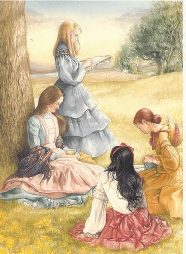"Who wrote the novel ""Little Women"" ?"