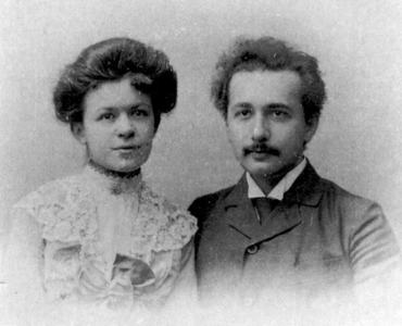 what is the name of Albert Einstein's first wife?
