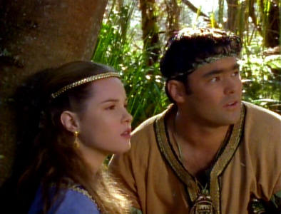 """What regions of Greece did Agranon and Jana represent in the episode """"The Path Not Taken""""?"""