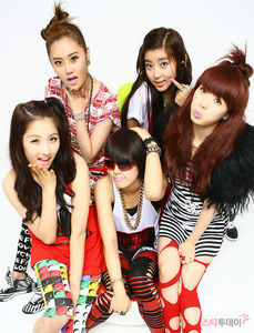 What is the 1ST song of 4minute?