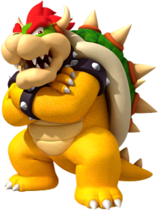 Which of these Koopalings used to be Bowser's second in command before Bowser Jr came along?.