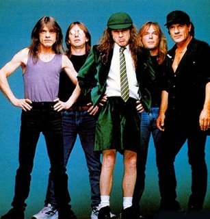 Origin's band - AC/DC ?
